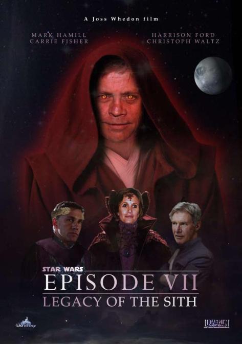 Star Wars Episode 7 Movie Poster Martin Grimley