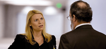 Claire Danes Mandy Patinkin Homeland The Choice