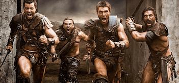 Dan Feuerriegel Dustin Clare Liam McIntyre Manu Bennett Spartacus War of the Damned