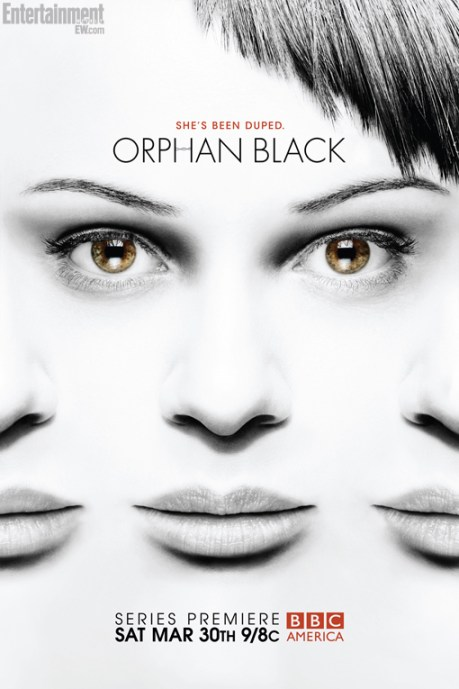 Orphan Black TV show poster
