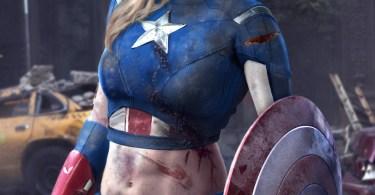Alison Brie Captain America
