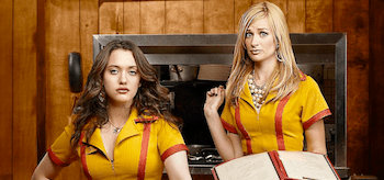 Kat Dennings Beth Behrs 2 Broke Girls