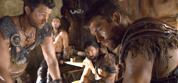 Liam McIntyre Spartacus War of the Damned Enemies of Rome