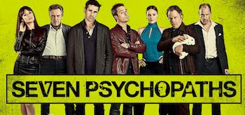 Seven Psychopaths Movie Banner