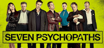 Seven Psychopaths Movie Banner