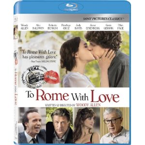 To Rome With Love Bluray
