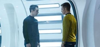 Chris Pine, Zachary Quinto Benedict Cumberbatch Star Trek Into Darkness