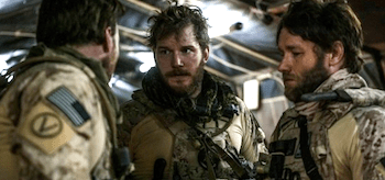 Chris Pratt Joel Edgerton Zero Dark Thirty