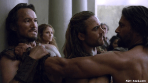Dustin Clare Liam McIntyre Manu Bennett Cohen Holloway Spartacus War of the Damned Men of Honor