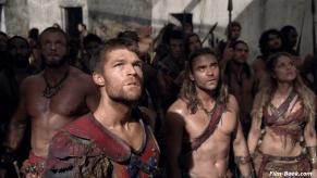 Ellen Hollman Dustin Clare Liam McIntyre Spartacus War of the Damned Men of Honor