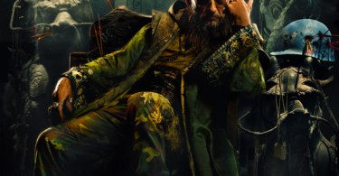 Iron Man 3 Mandarin uncropped movie poster