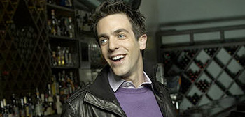 BJ Novak Leather Jacket