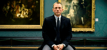 Daniel Craig Skyfall National Gallery