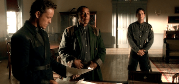 David Lyons Giancarlo Esposito Revolution Sex and Drugs