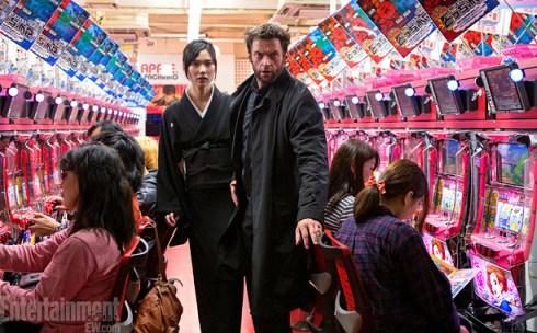 Hugh Jackman Tao Okamoto The Wolverine