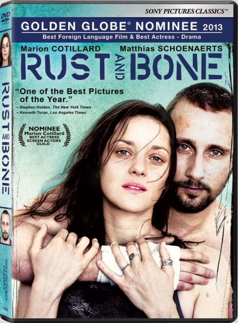 Rust and Bone Bluray