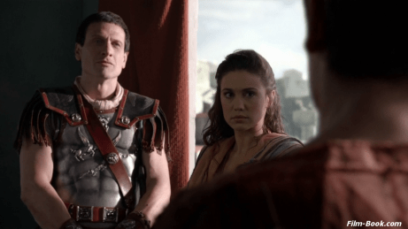 Simon Merrells Jenna Lind Spartacus War of the Damned Spoils of War