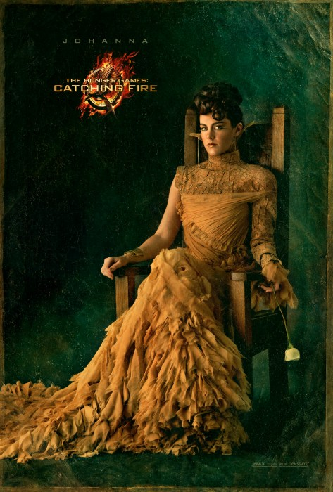 The Hunger Games Catching Fire Johanna Capitol Portrait movie poster