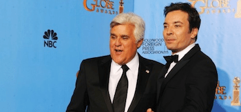 Jay Leno Jimmy Fallon The Golden Globes