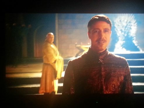 Aidan Gillen Conleth Hill Game of Thrones The Climb