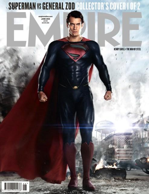 Henry Cavill Man of Steel Empire Magazine Cover June 2013
