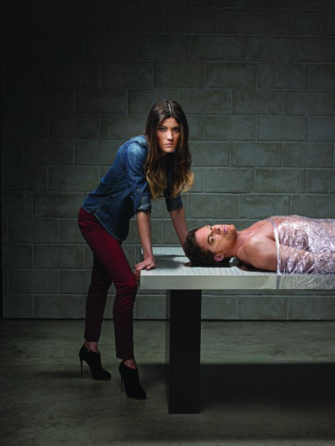 Michael C Hall Jennifer Carpenter Dexter Season 8