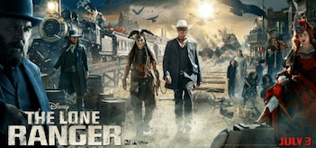 The Lone Ranger Movie Banner
