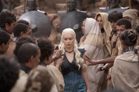 Emilia Clarke Game of Thrones Mhysa