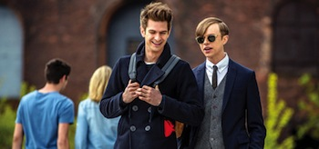 Andrew Garfield Dane DeHaan The Amazing Spider-Man 2