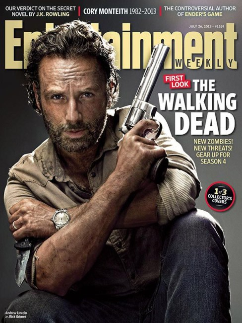 Andrew Lincoln The Walking Dead Entertainment Weekly Cover July 26 2013