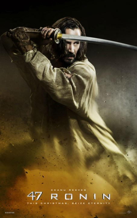 Keanu Reeves 47 Ronin movie poster