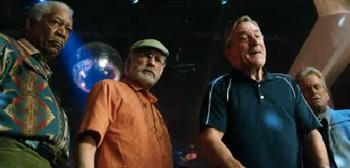 Robert De Niro Morgan Freeman Michael Douglas Kevin Kline Last Vegas