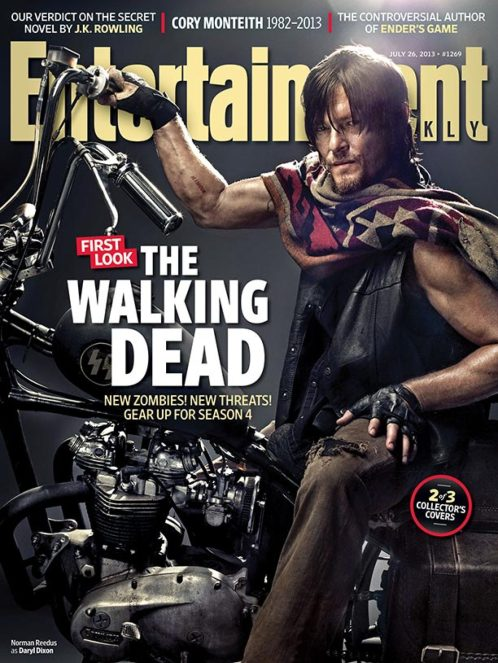 Norman Reedus The Walking Dead Entertainment Weekly Cover July 26 2013