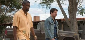 Denzel Washington Mark Wahlberg 2 Guns