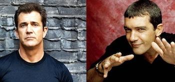 Mel Gibson Antonio Banderas