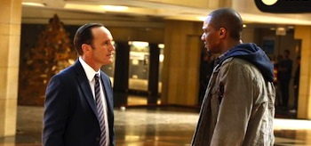 Clark Gregg J August Richards Agents of Shield