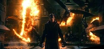 Aaron Eckhart I Frankenstein
