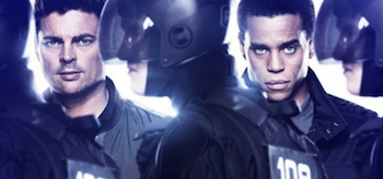 Almost Human TV show banner