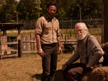 Andrew Lincoln Scott Wilson The Walking Dead Season 4