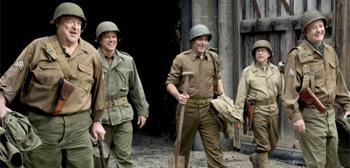 George Clooney Matt Damon The Monuments Men
