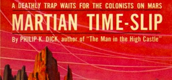 Martian Time Slip Book Cover