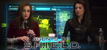 Ming Na Wen Elizabeth Henstridge Agents of SHIELD