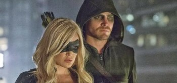 Stephen Amell Caity Lotz Arrow Crucible