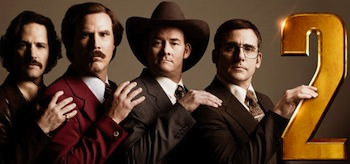 Anchorman 2 The Legend Continues Movie Banner