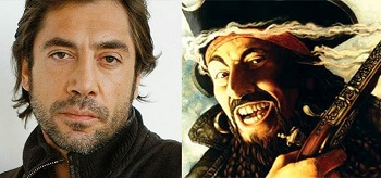 Javier Bardem Blackbeard