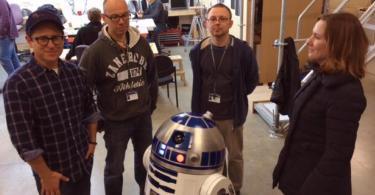 Lee Towersey Oliver Steeples JJ Abrams Kathleen Kennedy R2-D2 Star Wars Episode 7