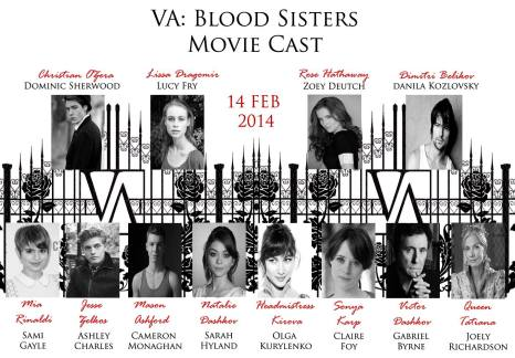 Vampire Academy Blood Sisters infographic