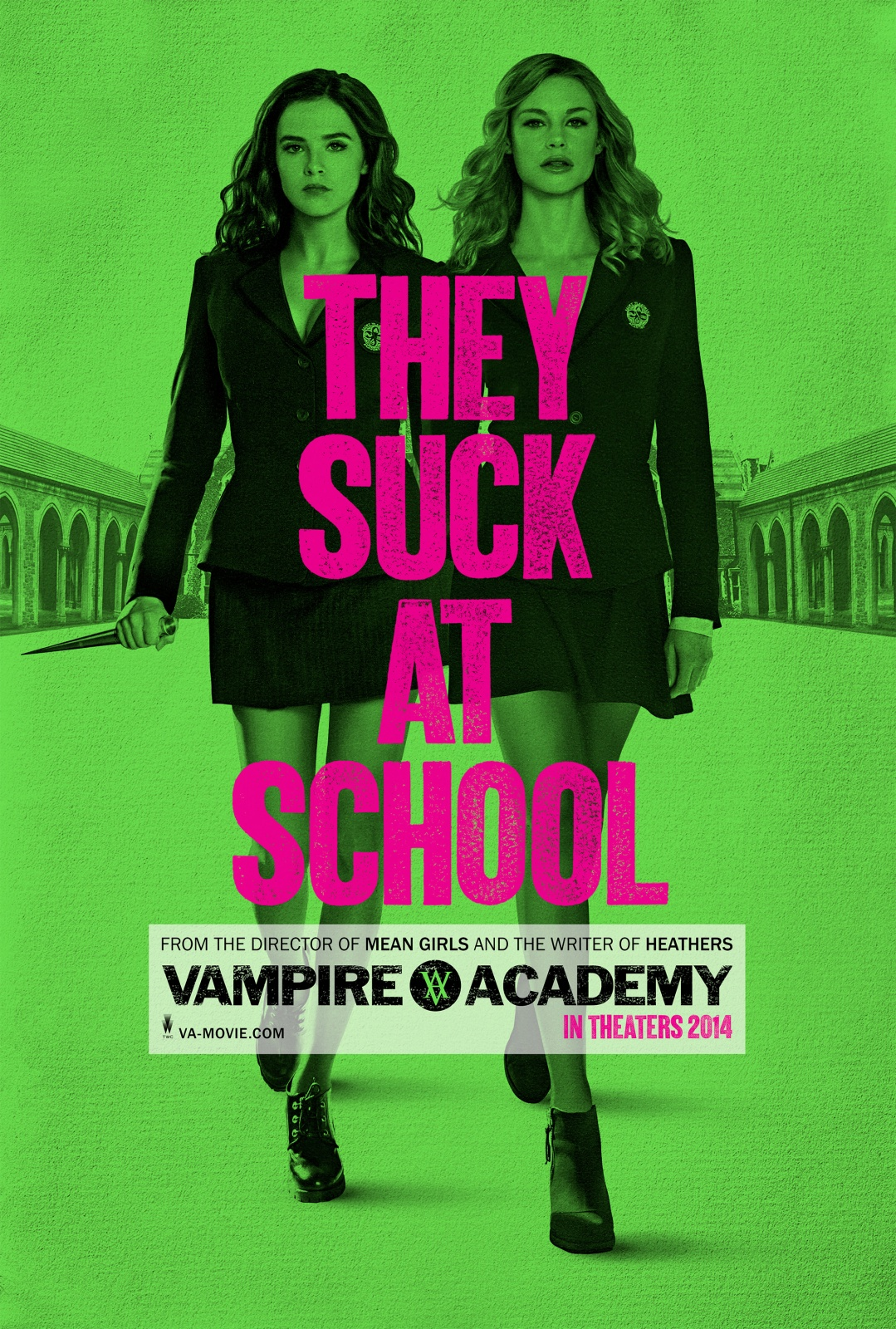 vampire academy blood sisters 2014 movie trailer