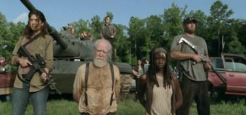 Scott Wilson Danai Gurira The Walking Dead Too Far Gone