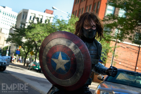 Sebastian Stan Captain America: The Winter Soldier